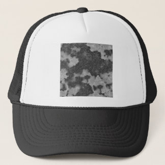 Rough grey surface trucker hat