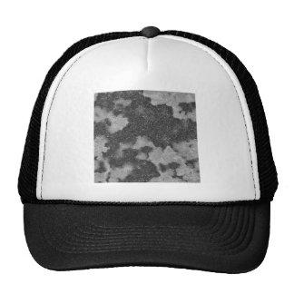 Rough grey surface trucker hat