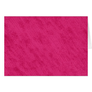 Rough Grungy Velvet Texture: Bright Hot Pink Card
