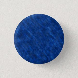 Rough Grungy Velvet Texture: Majestic Royal Blue Button