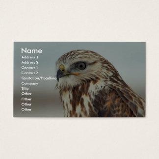 Rough-legged Hawk Business Card