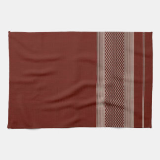 rough material print kitchen towels