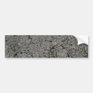 Rough Metal Texture Background Bumper Sticker