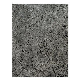 Rough Metal Texture Background Postcard