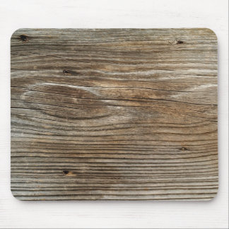 rough old plank of wood mouse pad