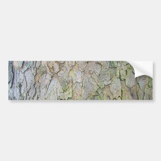 Rough Old Tree Bark Texture Background Car Bumper Sticker