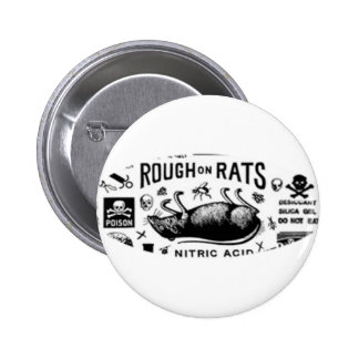 Rough On Rats Buttons