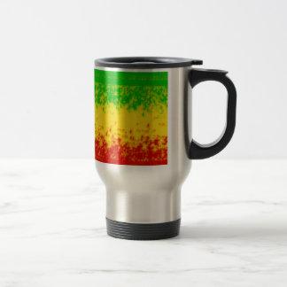 Rough Rasta Design Coffee Mug
