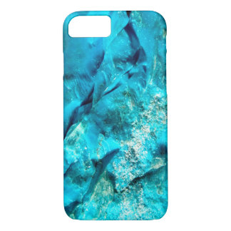 Rough Raw Turquoise Texture iPhone 7 Case