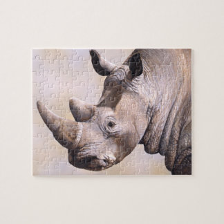 """""""Rough Rider"""" Rhino Puzzle"""