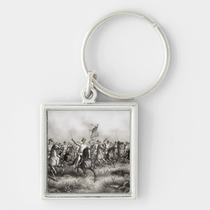 Rough Riders: Colonel Theodore Roosevelt Keychain