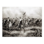 Rough Riders: Colonel Theodore Roosevelt Postcard