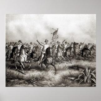 Rough Riders: Colonel Theodore Roosevelt Print