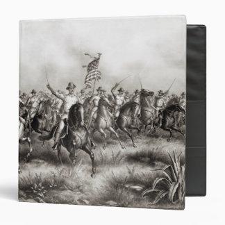 """Rough Riders: Coronel Theodore Roosevelt Carpeta 1 1/2"""""""