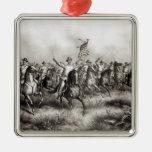 Rough Riders: Coronel Theodore Roosevelt Ornamento De Navidad
