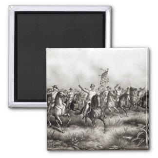 Rough Riders: Coronel Theodore Roosevelt Imán Cuadrado