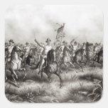 Rough Riders: Coronel Theodore Roosevelt Colcomanias Cuadradass