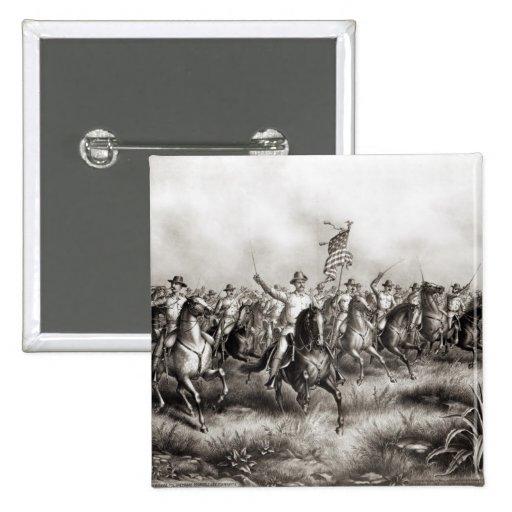 Rough Riders: Coronel Theodore Roosevelt Pins
