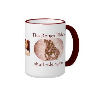 Rough Riders Ringer Mug