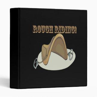 Rough Riding 3 Ring Binder
