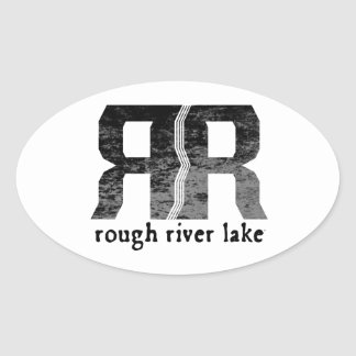 Rough River Lake Oval Sticker
