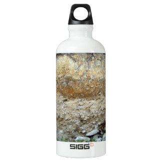 Rough Rock Texture Water Bottle