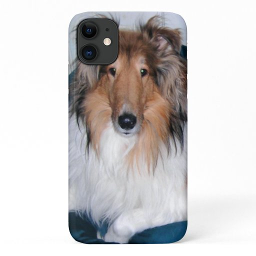 Rough Sable Collie iPhone 11 Case