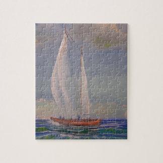 Rough Sailing Jigsaw Puzzles