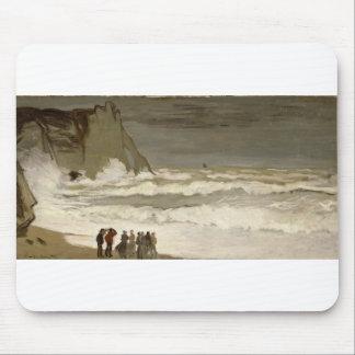 Rough Sea at Etretat (1868-1869) Mouse Pad