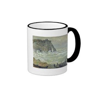 Rough Sea at Etretat, 1883 Coffee Mugs
