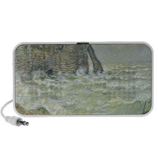 Rough Sea at Etretat, 1883 Notebook Speaker