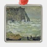 Rough Sea at Etretat, 1883 Ornaments