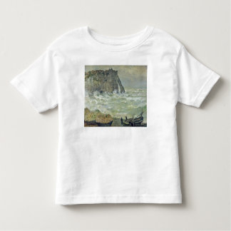 Rough Sea at Etretat, 1883 T-shirts
