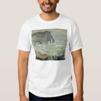 Rough Sea at Etretat, 1883 Tees