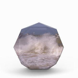 Rough sea at Grandcamp-Maisy Acrylic Award