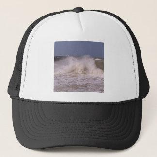 Rough sea at Grandcamp-Maisy Trucker Hat