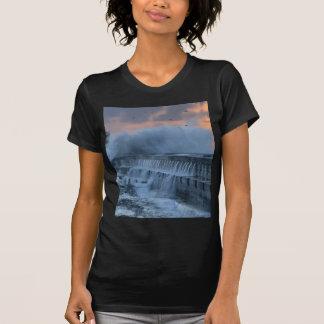 Rough sea at Porto, Portugal T-shirt