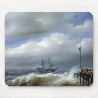 Rough Sea in Stormy Weather, 1846 Mouse Pad