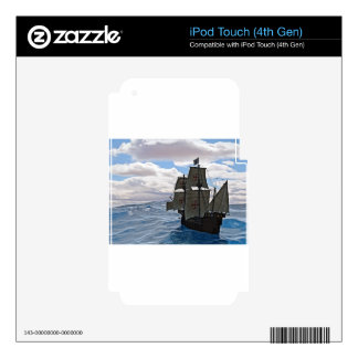 Rough Seas Ahead Skins For iPod Touch 4G