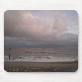 rough seas mouse pad