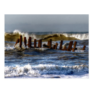 Rough Seas Postcard