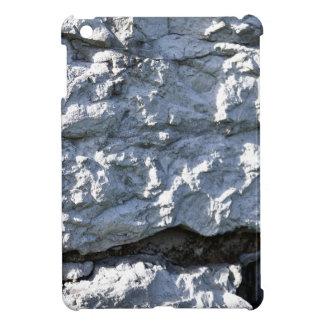 Rough Stone Texture, White Brick Case For The iPad Mini