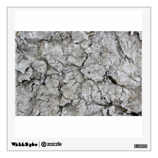 Rough surface wall sticker