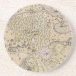 Rough Terrain Map Coasters