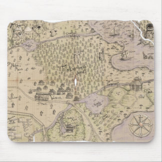Rough Terrain Map Mouse Pad