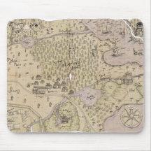 Rough Terrain Map Mousepad