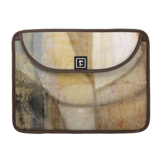 Rough Textured Earth Tone Painting Sleeve For MacBook Pro