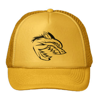 Rough Timber Hunters Yellow Trucker Hat