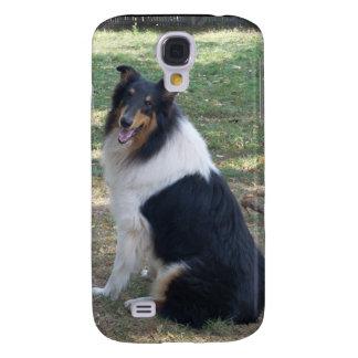 Rough Tri Collie iPhone 3 case