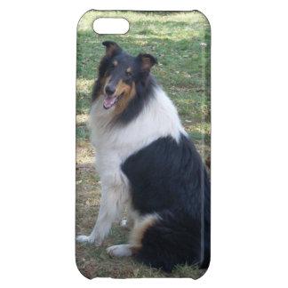 Rough Tri Collie iPhone 5c case